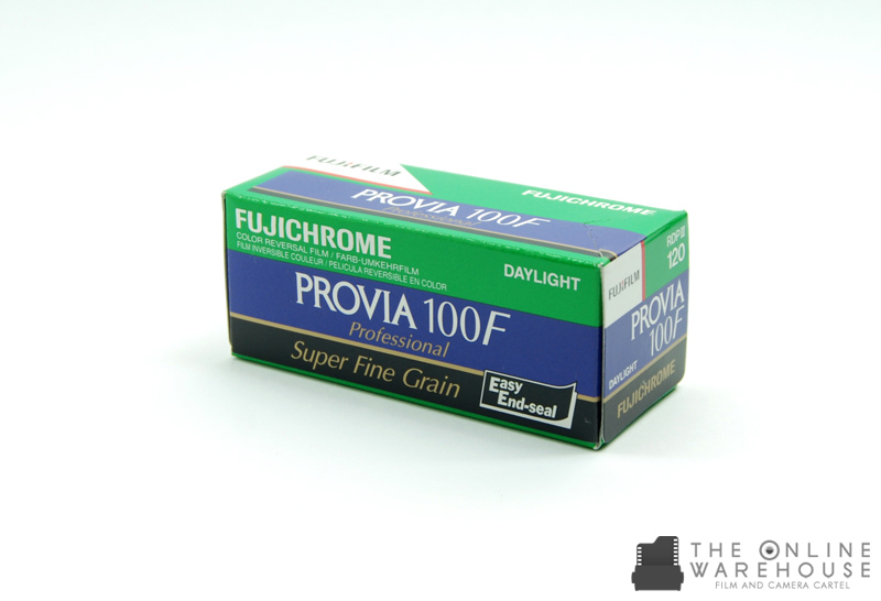 Fujichrome Provia 100f 120 The Online Warehouse