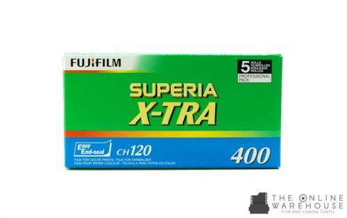 Fujicolor Superia X-TRA 400 120