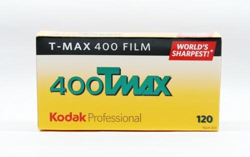 120 Kodak TMAX 400